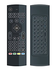 Control Remoto MX3-L inalámbrica de 2,4 GHz Bluetooth 4.0 Para Android Box TV&TV Dongle