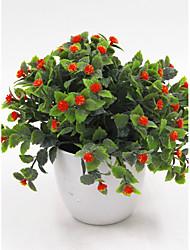1 Ramo Flôr Seca Gipsofila Flor de Mesa Flores artificiais