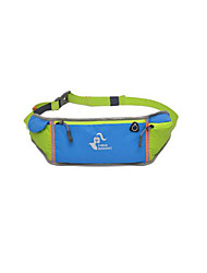 10 L Belt Pouch/Belt Bag Waterproof Rain-Proof Wearable Yellow Green Red Gray Black Blue
