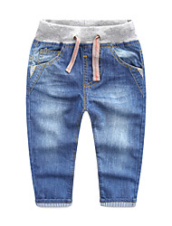 Boys' Casual/Daily Sports Striped Jeans-Cotton Spring Fall