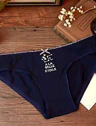 Rétro Imprimé Sous-vêtements MoulantsCoton