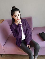 Model real shot sweater 2017 spring Korean women sweater coat sweater influx of students
