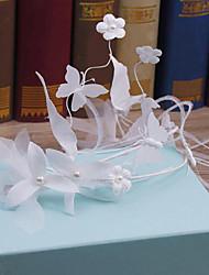 Tissu en tissu de tulle en plume-mariage occasion spéciale casse-croûte décontracté en plein air 1 pièce