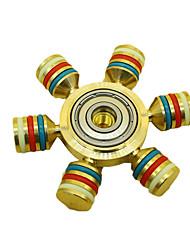 Spinners de mão Mão Spinner Brinquedos Seis Spinner EDCO stress e ansiedade alívio Brinquedos de escritório Alivia ADD, ADHD, Ansiedade,