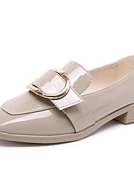 Women's Loafers & Slip-Ons Spring Summer Comfort PU Office & Career Dress Casual Chunky Heel Sequin