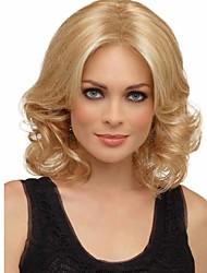 venta mujeres de color rubio pelo de la onda pelucas cosplay sintética