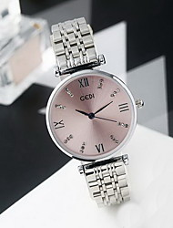 Women's Fashion Watch Water Resistant / Water Proof Japanese Quartz Alloy Band Cool Casual Silver Gold