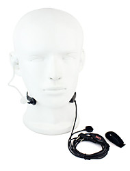 Throat MIC PTT Headset Walkie Talkie Covert Acoustic Tube for Kenwood Baofeng 365 Wanhua TYT HYT