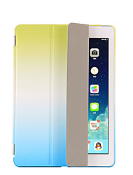 For IPad (2017) with Stand Auto Sleep/Wake Flip Origami Case Full Body Case Color Gradient Hard PU Leather Pro 9.7