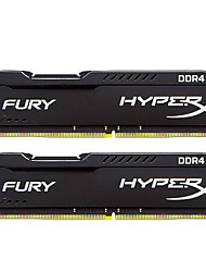 Kingston RAM 8GB Kit (4GB * 2) DDR4 2400MHz Memória de desktop HX424C15FBK2/8 PNP