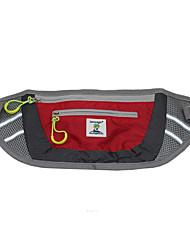 Sacos de cintura ao ar livre sacos esporte correndo com cão de estimação reflexivo nylon bolsa de viagem cinto