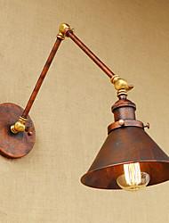 Ac220v-240v 4w led ampoule e27 mur applique laiton vintage lampe murale industrielle éclairage éclairage domestique décor intérieur