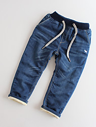 Boys' Casual/Daily Solid Jeans-Cotton Winter