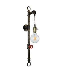 Qiso ac220v-240v 4w e27 conduziu a luz clara do swall conduziu os wall wall lâmpada de parede do ferro da lâmpada do lightsaber do dumb