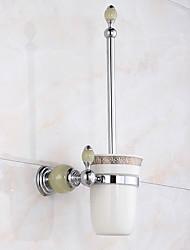 Toilet Brushes & Holders Modern Brass