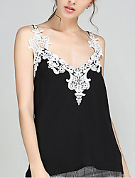 Women's Going out Casual/Daily Sexy Blouse,Solid Off Shoulder Sleeveless Others