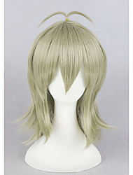 lança curta n masques 16 polegadas sintético anime cosplay perucas cs-267a
