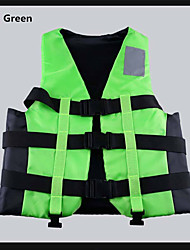 Breathable Anatomic Design Spandex 100% Polyester Diving Suit Sleeveless Life Vest Life Jacket-Swimming Diving Beach Surfing Sailing