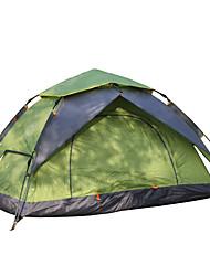 2 Pessoas Duplo Um Quarto Barraca de acampamentoEquitação Campismo Viajar-Verde Azul Laranja