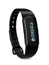 montre intelligente - SODIAL (r) Bluetooth 4.0 montre sport santé bracelet bracelet intelligent sommeil suivi de remise en forme