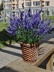 1 Une succursale Plastique Lavande Fleur de Table Fleurs artificielles 20*20*42