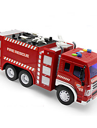 Fire Engine Vehicle Toys 1:50 Plastic Red
