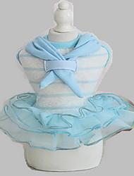 Dog Tuxedo Dress Tiered Skirt Dog Suspender Skirt Summer Princess Cute Fashion Birthday Sailor