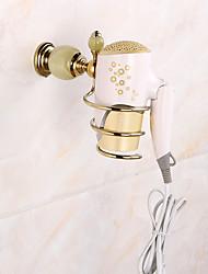 Bathroom Accessory Set / GoldBrass /Contemporary