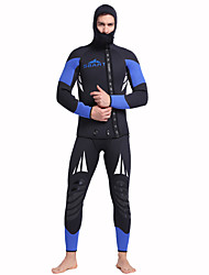 Men's 5mm Full Wetsuit Quick Dry Anatomic Design Moisture Permeability Breathable Compression Rubber Diving Suit Long Sleeves Diving Suits