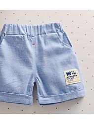 Jungen Shorts Lässig/Alltäglich einfarbig Baumwolle Sommer