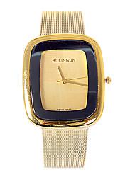 Unisex Fashion Watch Quartz Alloy Band White Gold Gold White