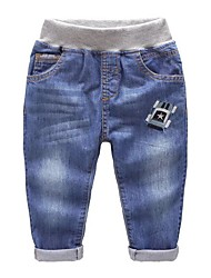 Boys' Casual/Daily Solid Jeans Spring
