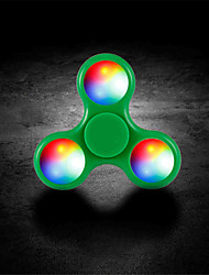 LED flash Fidget Spinners High Quality EDC Hand Spinner For Autism and ADHD Rotation Time Long Anti Stress Toys Kid Gifts