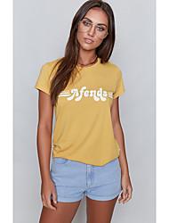 Aliexpress ebay2017 été nouveau t-shirt imprimé t-shirt femme