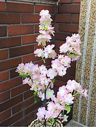 1 Branch Silk Encryption Sakura Wedding Venue Show Window Layout Artificial Flower