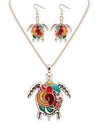 Jewelry Set Jewelry Unique Design Logo Style Dangling Style Animal Design Bohemian Luxury Statement Jewelry Chrome Animal Shape