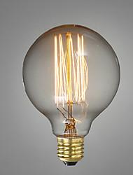 e27 40w g80 restaurante fio bola hotel de edison reta retro decorativo lâmpada