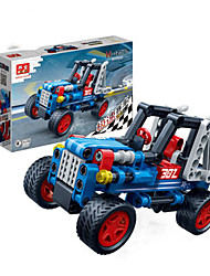 Children 's Puzzle Assembled Building Blocks Toys Hi - Tech Pull Back Car Racing Model 6960