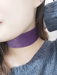 Women's Choker Necklaces Jewelry Single Strand Fabric Euramerican Fashion Personalized Jewelry For Daily Casual 1pc