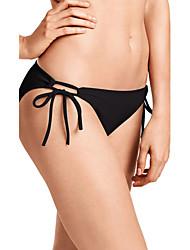 Mulheres Calcinhas, Shorts & Calças de Praia Sólido Nadador Acrílico Elastano Mulheres