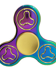 Colorful Fidget Spinner Toy Made of Titanium Alloy Minutes Spinning Time High-Speed EDC Focus Toy for Killing Time