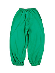 Girls' Beach Solid Pants-Cotton Summer