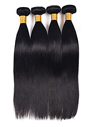 7A Malaysian Hair Extensions Dyeable Natural Color Hair Bundle Silky Straight Human Hair Weave Double Weft Thick Ends Vinsteen Hair