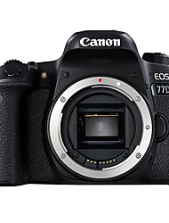 Canon® EOS 77D Body SLR Digital Camera 1080P NFC WiFi Tiltable LCD Black 3.0
