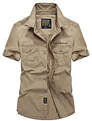 Homme Tee-shirt Camping / Randonnée Pêche Séchage rapide Respirable Eté