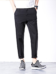 Japanese retro men's casual pants Harlan pantyhose original fashion loose, casual straight 9 pants