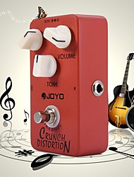 Aluminum Alloy Joyo JF-03 Crunch Distortion Electric Guitar Effect Pedal with Full-Stack Marshall Gain Three Buttons