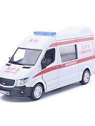 Bauernhoffahrzeuge Aufziehbare Fahrzeuge Auto Spielzeug 1:25 Metall Weiß Model & Building Toy