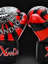 Gants de Boxe d'Entraînement pour Boxe Art martial Taekwondo mitaines Résistant aux Chocs Antiusure Protectif Coussin PolyuréthaneGants