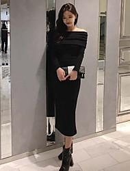 Carga grande tiene un vestido coreano strapless sin tirantes de la falda de la fractura del collar trasero
